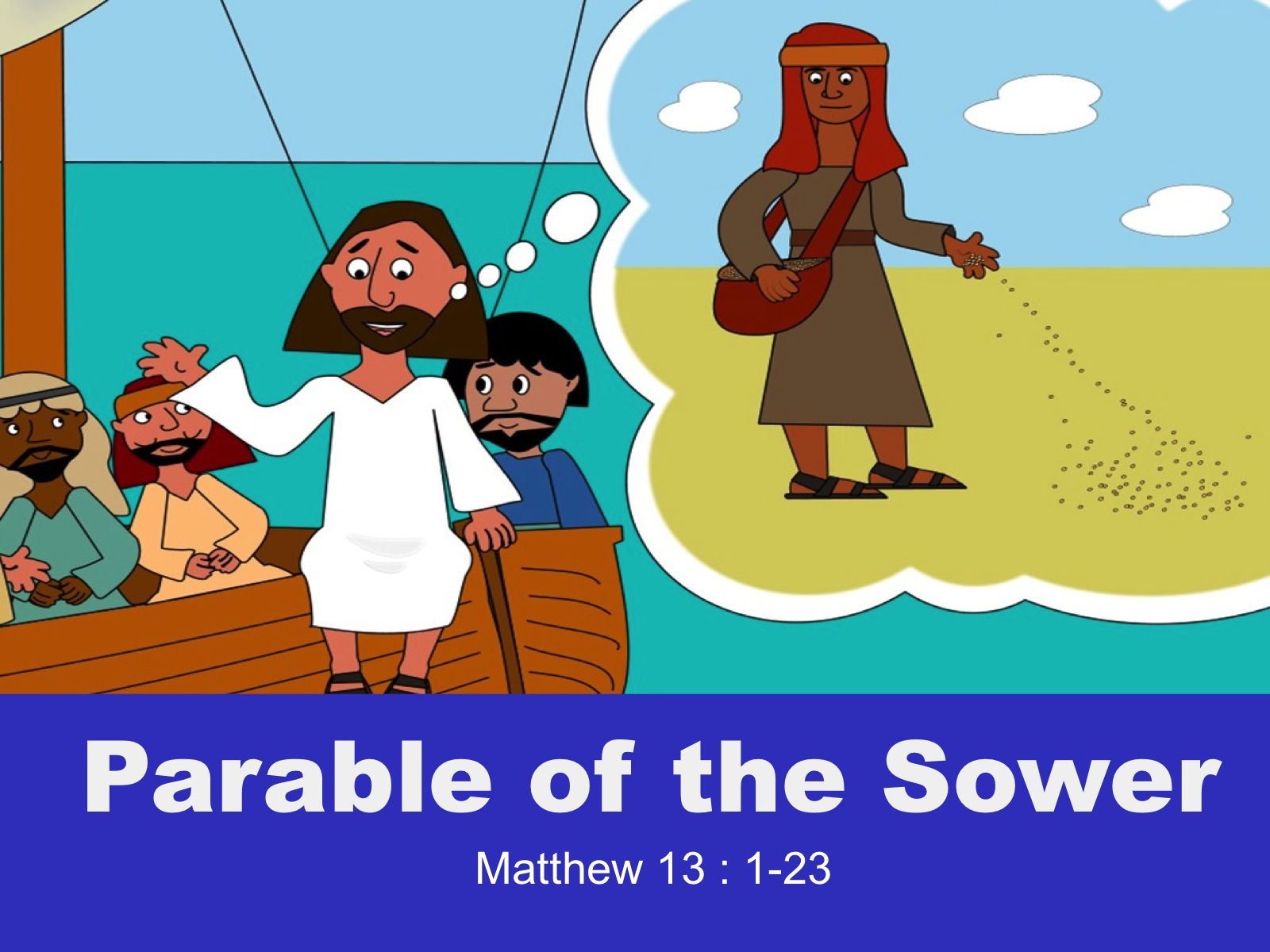 Matthew 13-1-23_Parable_Sower_Icanreadbible_Featured Image